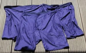 Panties in blau
