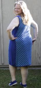 Kleid, Rückansicht