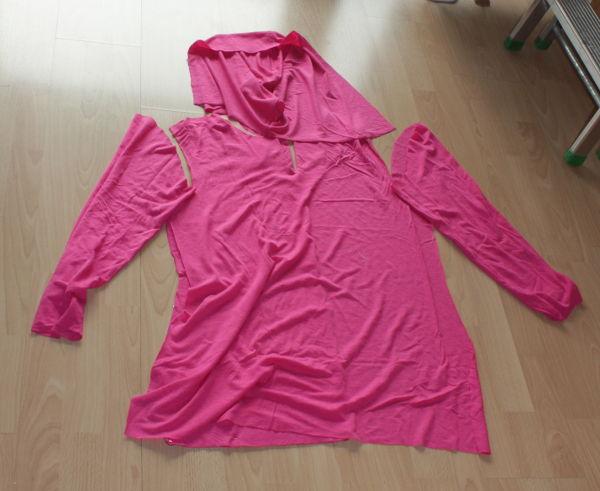 "Shirt als ""Bausatz"" in pink"