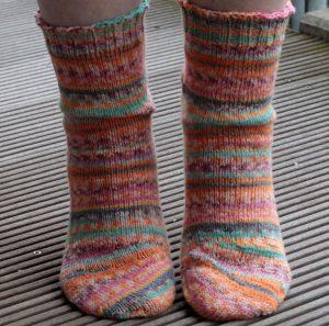 Tipsy Toe Socken