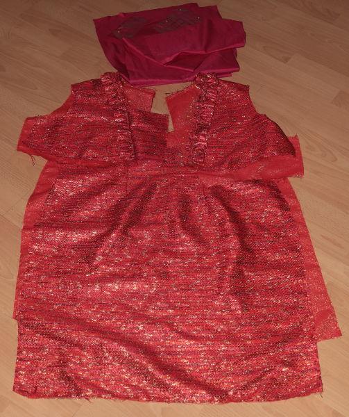 Schnitteile für Kleid Butterick B5917